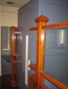 ascensor en espacio reducido