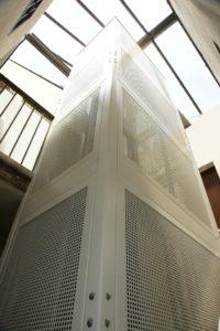 instalacion de un ascensor en begas